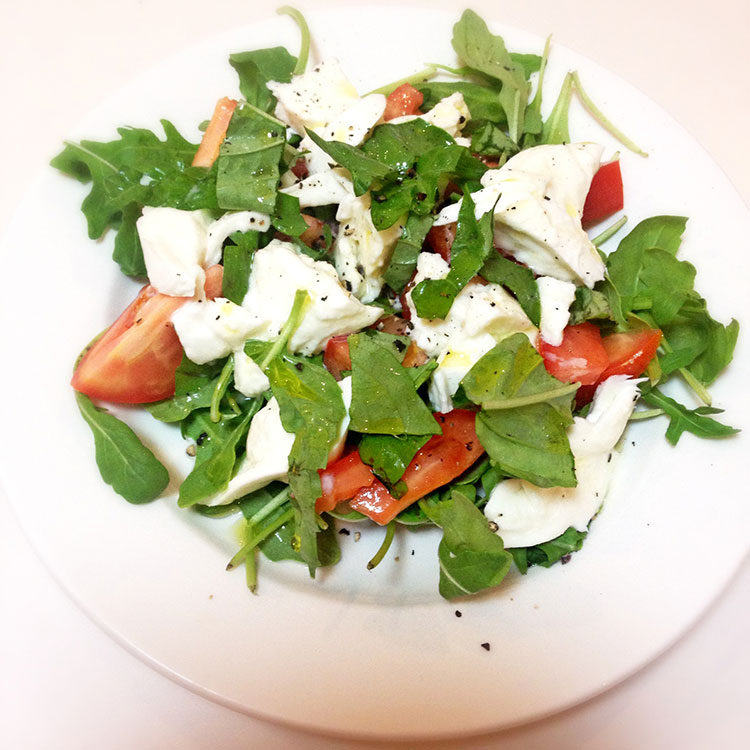 image of caprese salad